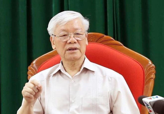 Tong bi thu Nguyen Phu Trong,  Hop lanh dao chu chot anh 2