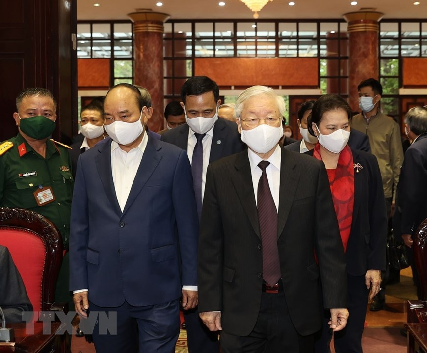 Tong Bi thu Nguyen Phu Trong anh 3