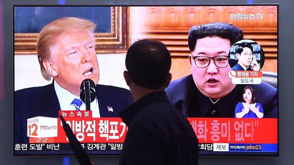 huy gap Kim - Trump anh 2