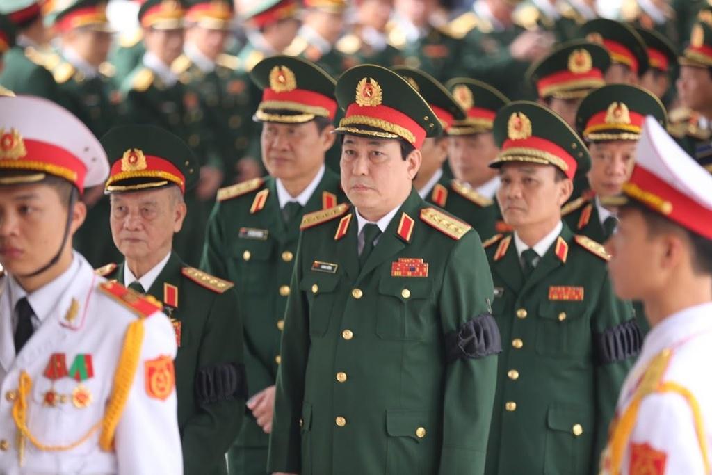 Lanh dao Dang, Nha nuoc tien dua trung tuong Dong Sy Nguyen hinh anh 11
