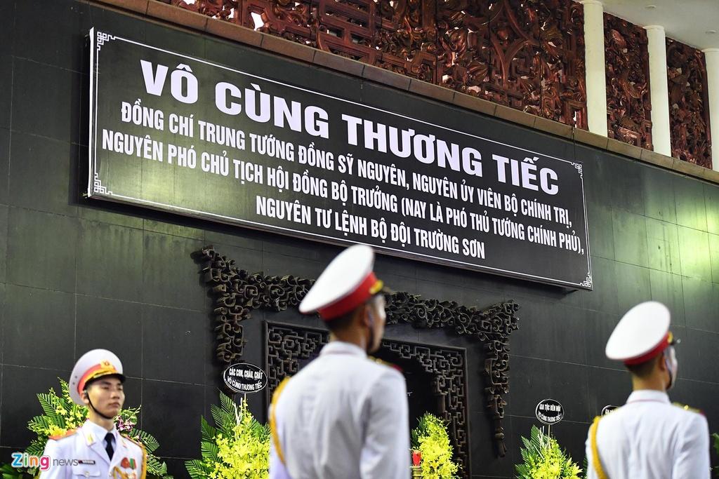 Lanh dao Dang, Nha nuoc tien dua trung tuong Dong Sy Nguyen hinh anh 2