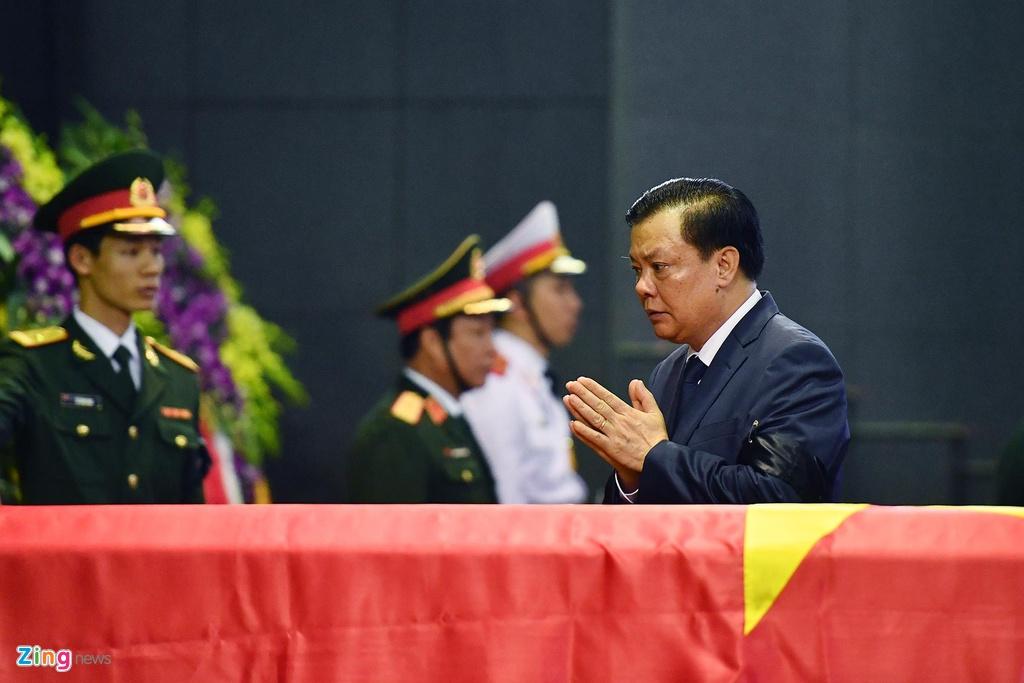 Lanh dao Dang, Nha nuoc tien dua trung tuong Dong Sy Nguyen hinh anh 13