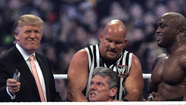 Trump san sang doi dau Biden anh 1