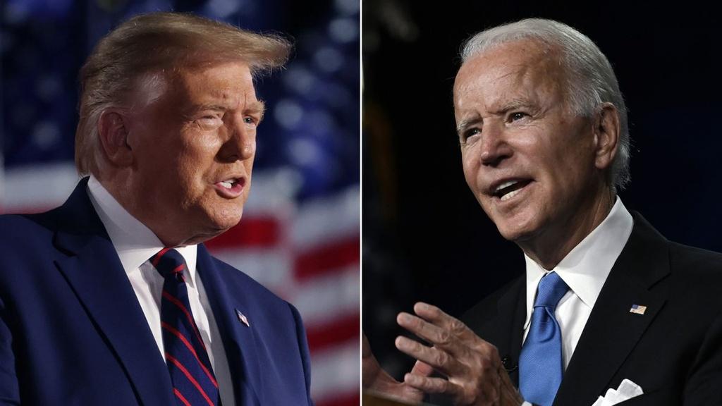 Trump san sang doi dau Biden anh 5
