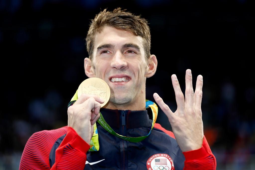 10 VDV doat nhieu huy chuong nhat Olympics 2016 hinh anh 1