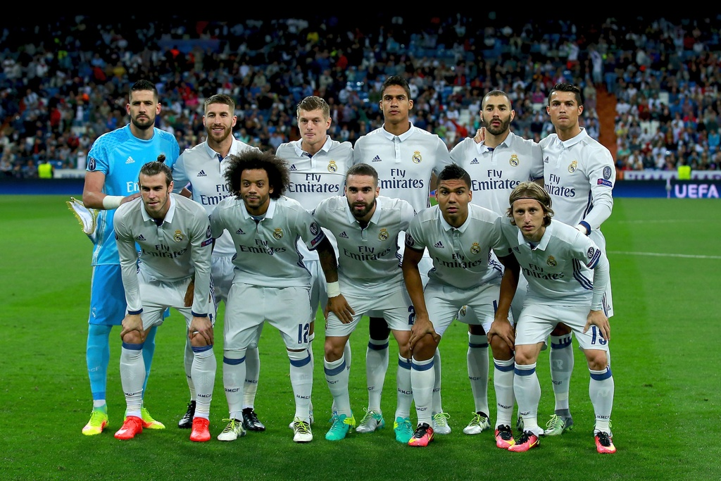Real Madrid vs Sporting Lisbon anh 1