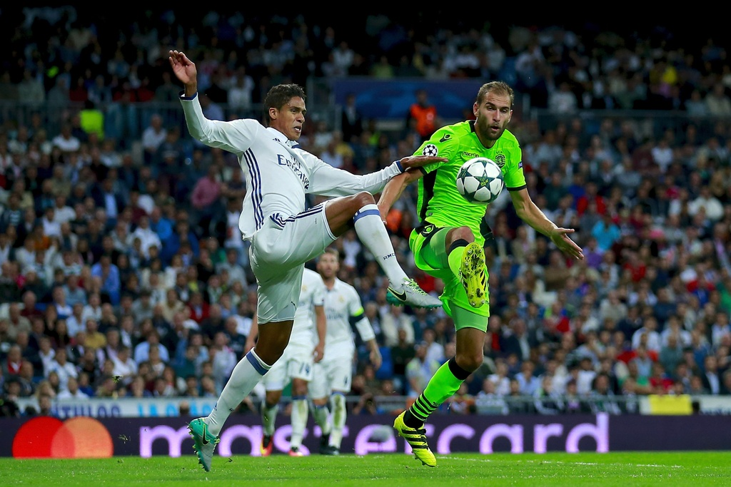 Real Madrid vs Sporting Lisbon anh 2