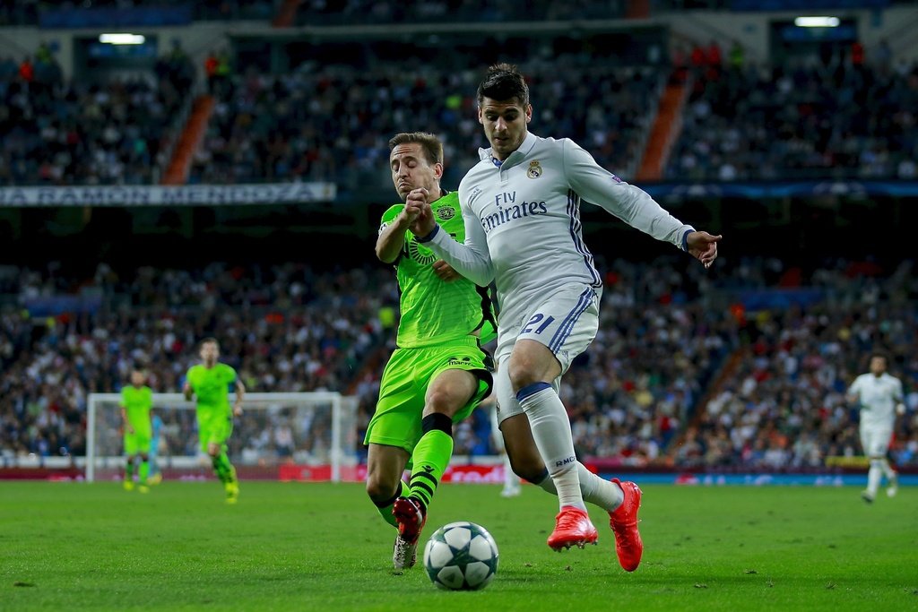 Real Madrid vs Sporting Lisbon anh 8