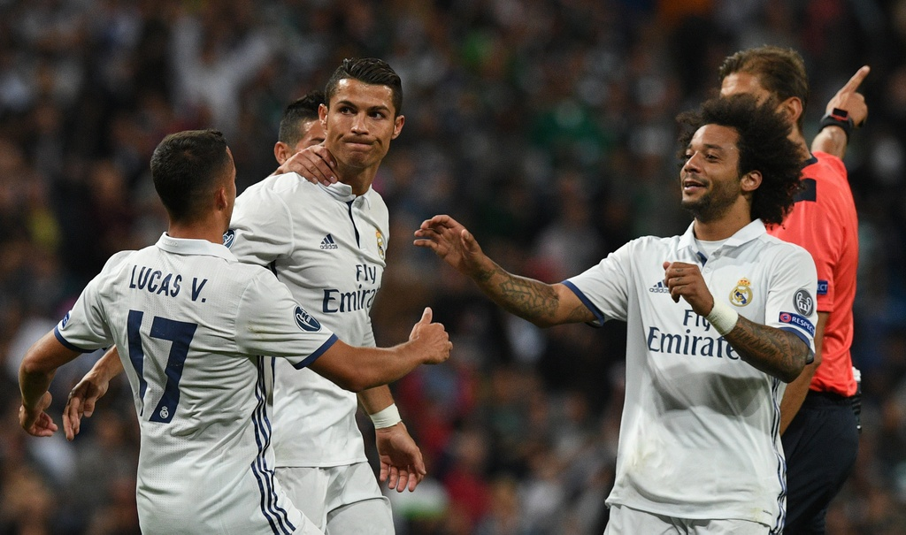 Real Madrid vs Sporting Lisbon anh 10