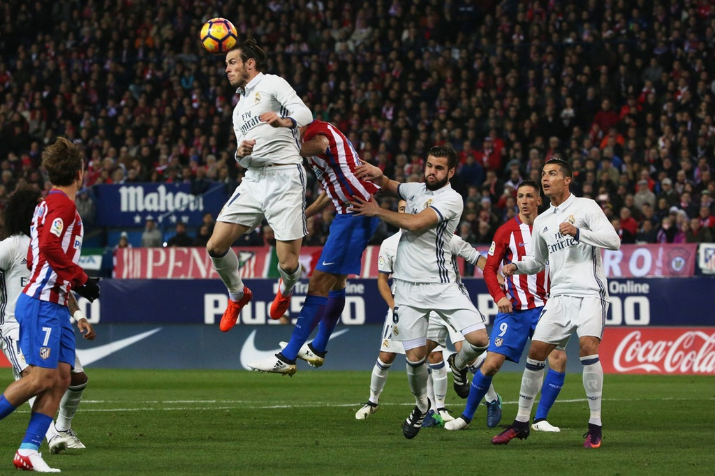 Tran Atletico vs Real Madrid anh 6