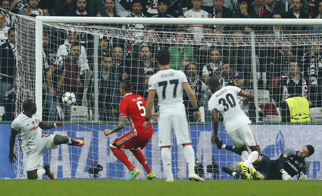 Tran Besiktas vs Benfica anh 5