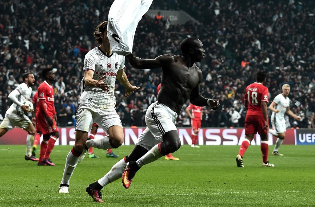 Tran Besiktas vs Benfica anh 8