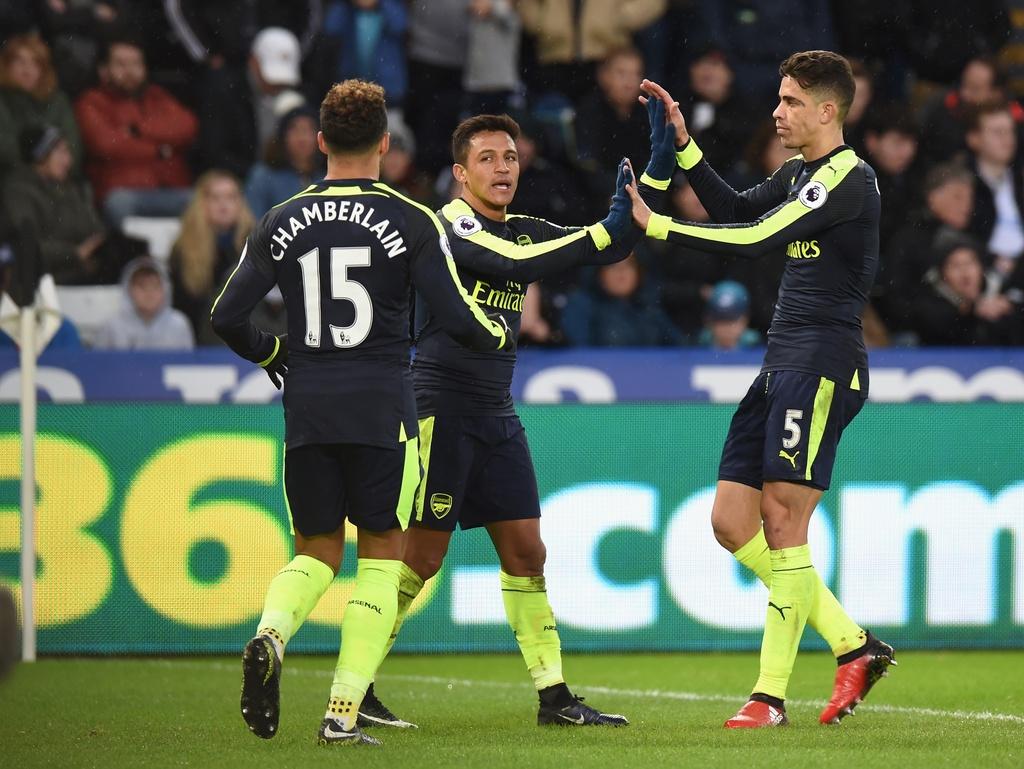 Arsenal thang dam, Iwobi khien doi thu phan luoi 2 lan hinh anh 8