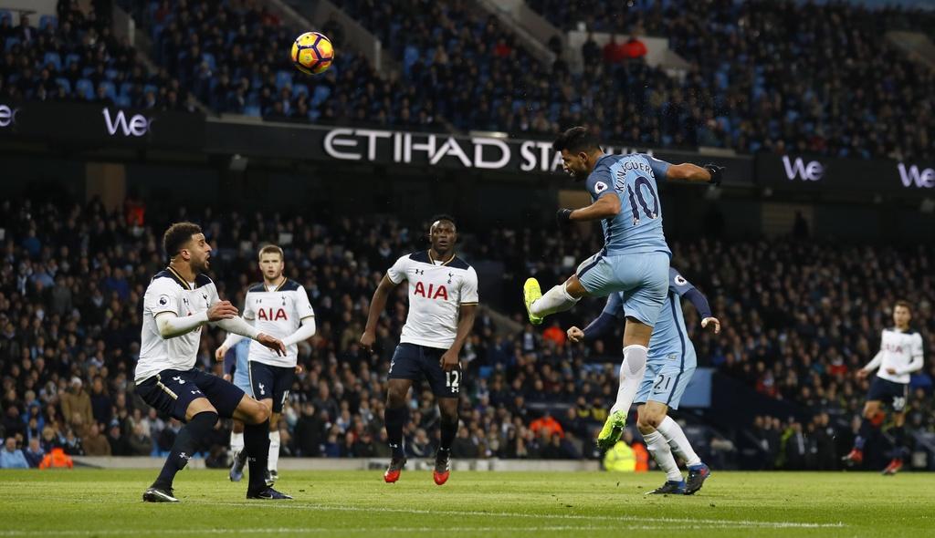 Tran Man City vs Tottenham anh 4
