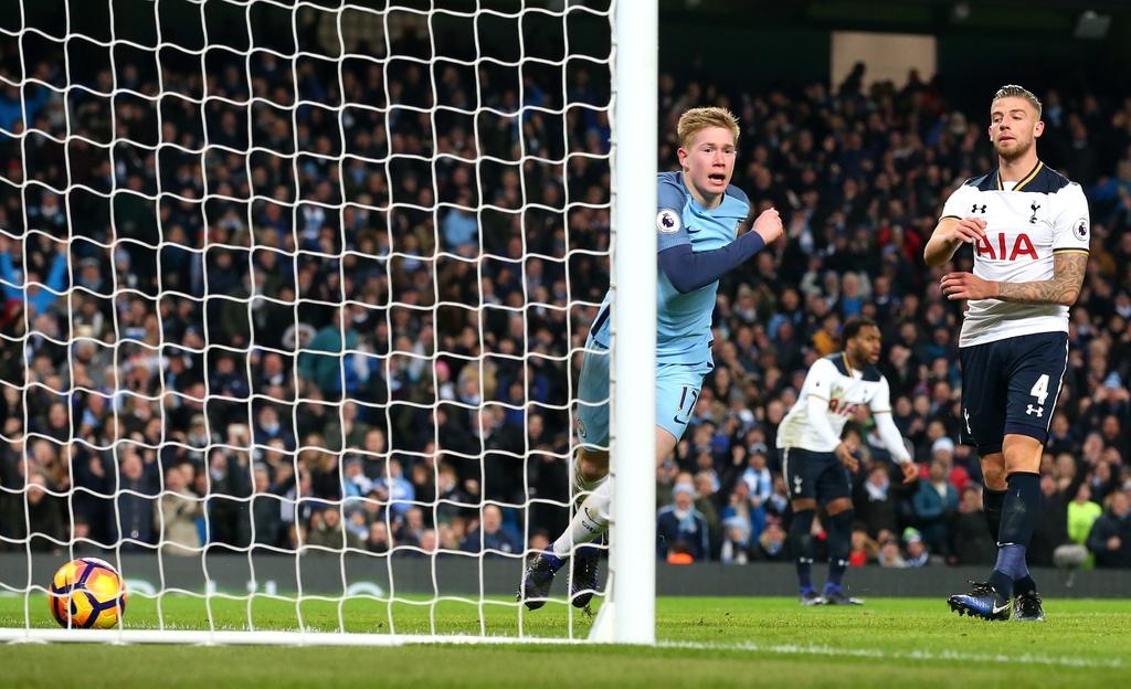 Tran Man City vs Tottenham anh 8