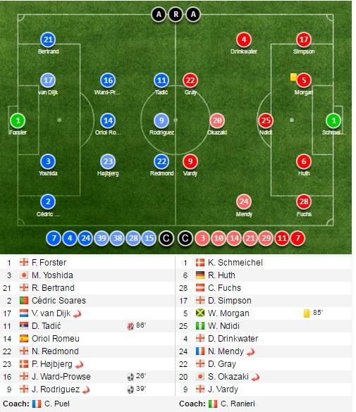Tran Southampton vs Leicester City anh 10