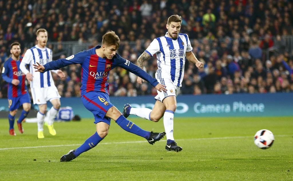 Tran Barcelona vs Sociedad anh 1