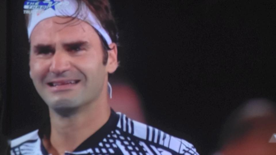 Federer nhoe le trong ngay hon cup bac chien thang hinh anh 11