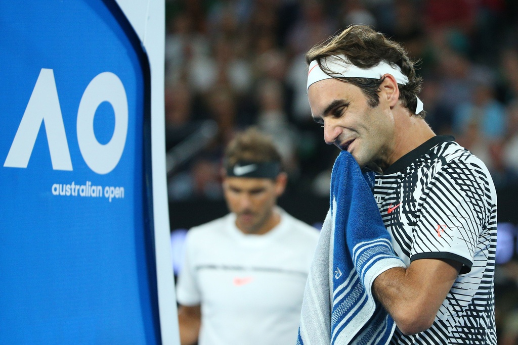 Federer nhoe le trong ngay hon cup bac chien thang hinh anh 5