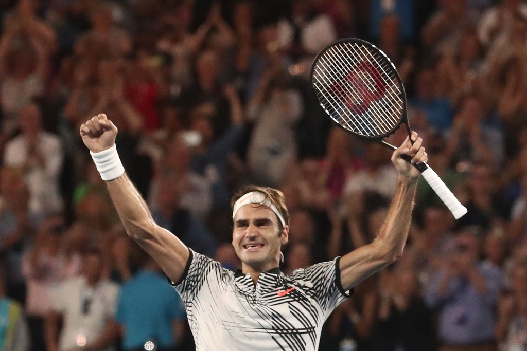Federer nhoe le trong ngay hon cup bac chien thang hinh anh 12