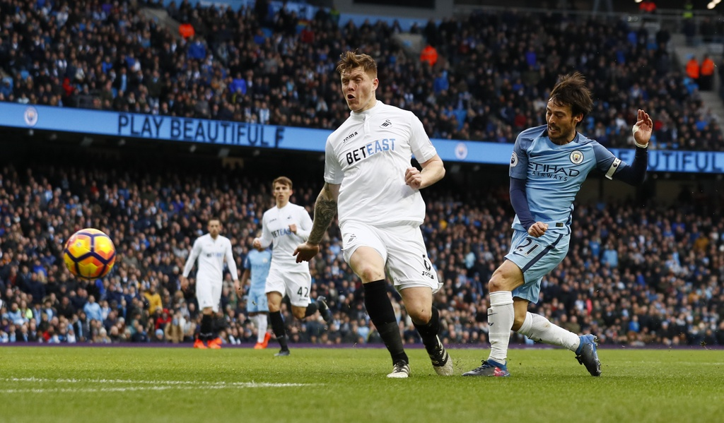 Tran Man City vs Swansea anh 4