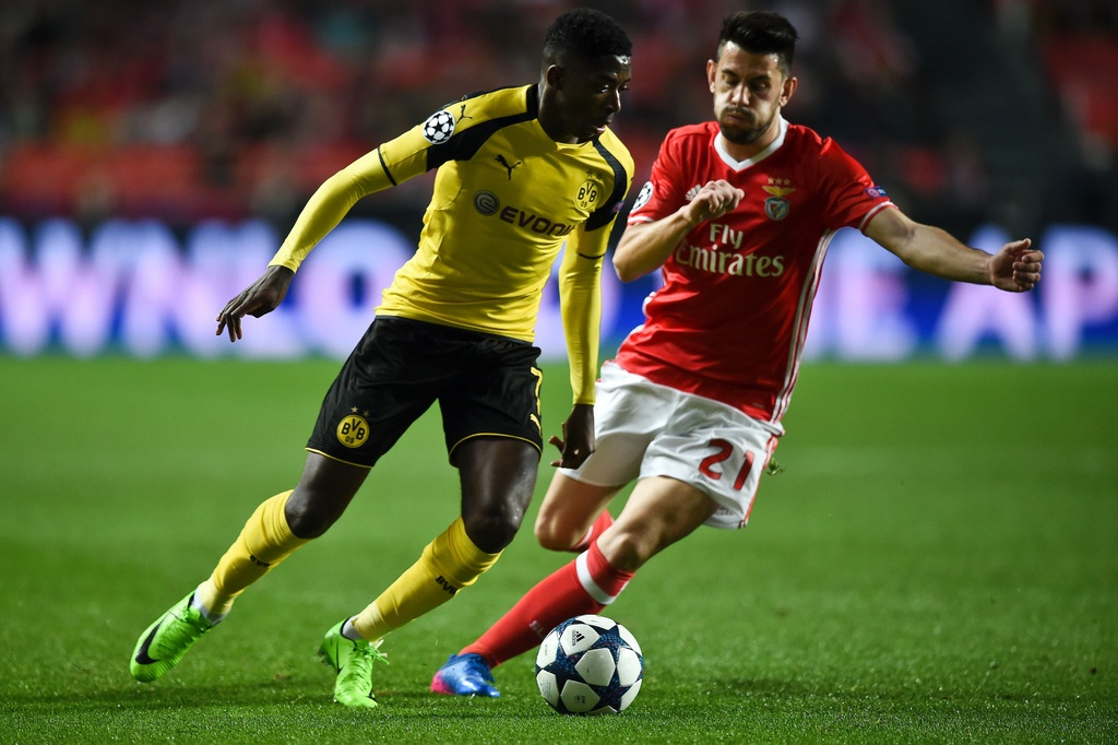 Tran Benfica vs Dortmund anh 3
