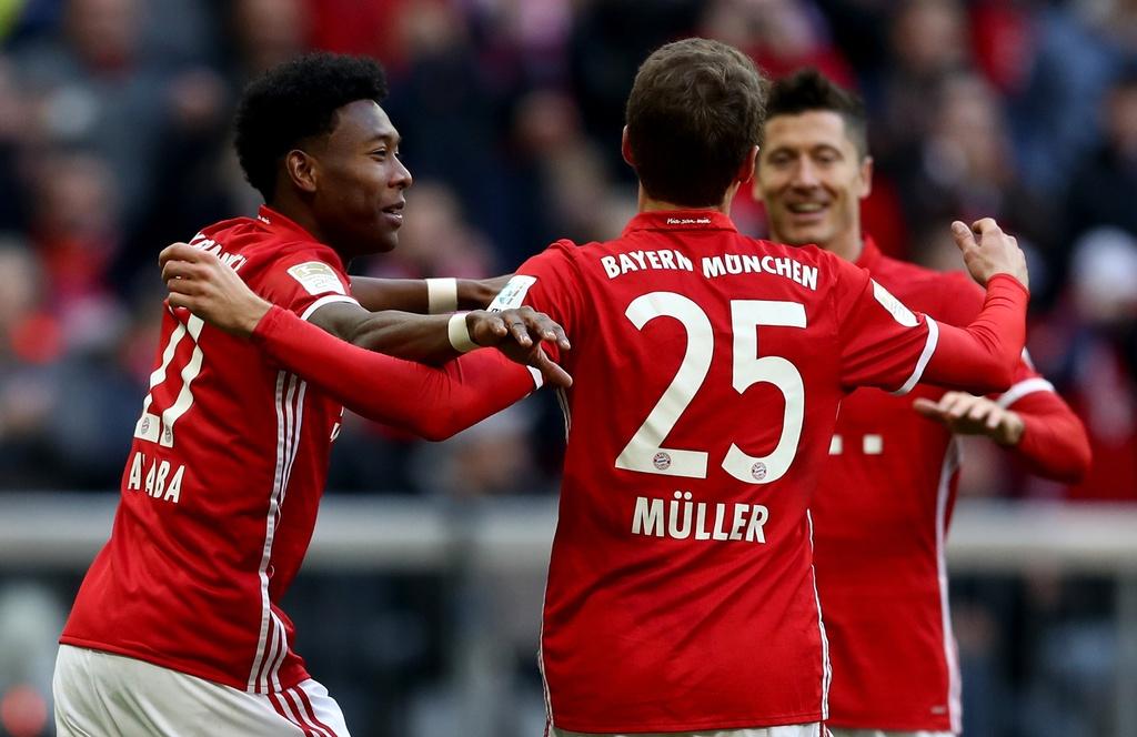 tran Bayern vs Hamburg anh 5