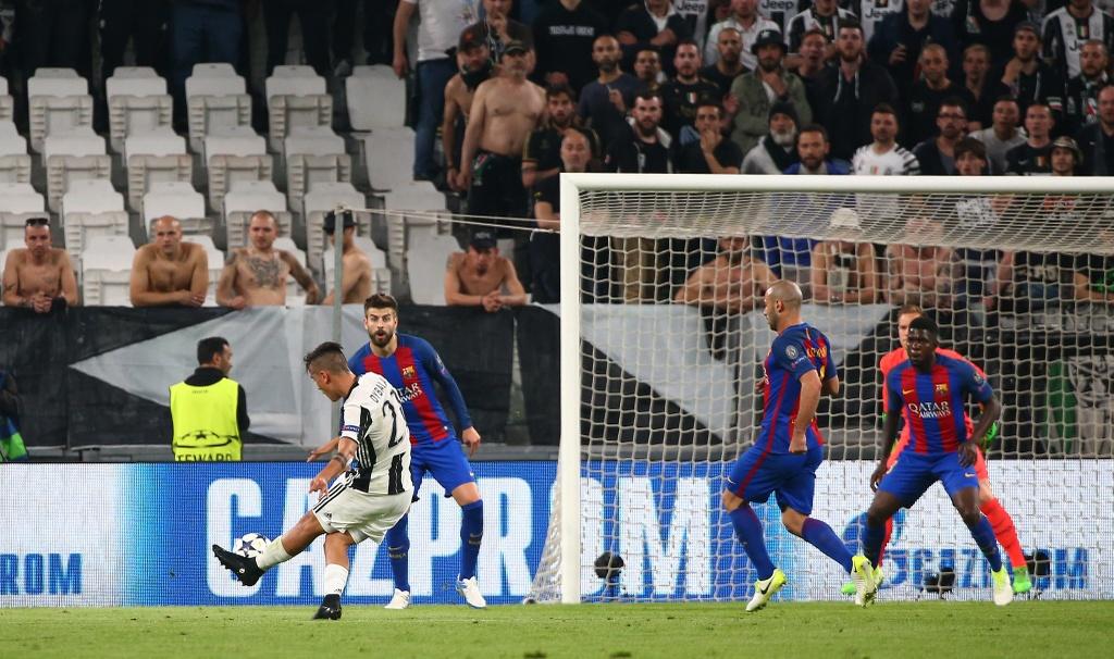Tran Juventus vs Barcelona anh 6