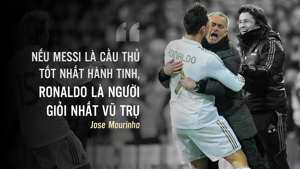 Ronaldo tai ngo Mourinho: Tinh thay tro vua dam vua xoa hinh anh 1