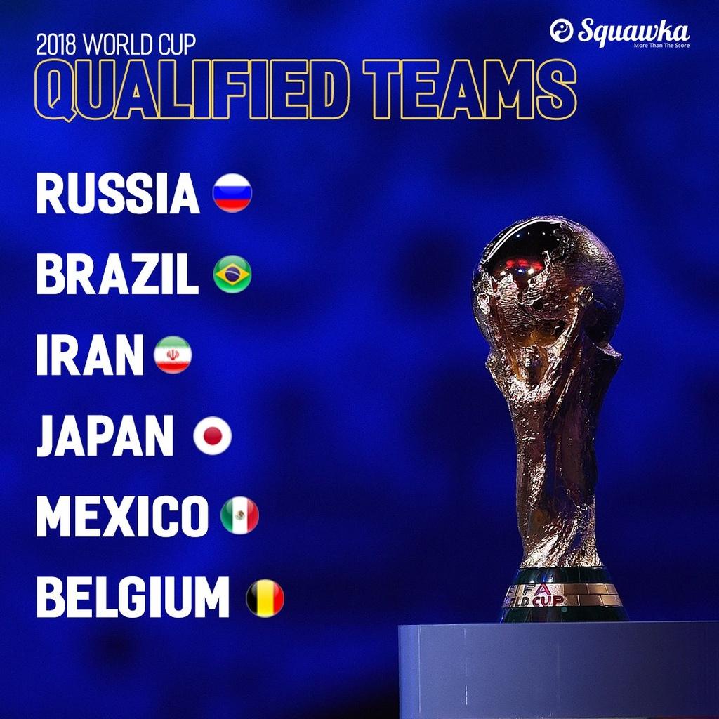 6 doi tuyen da gianh ve du World Cup 2018 hinh anh 1