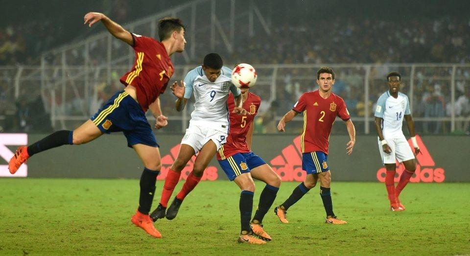 Vui dap Tay Ban Nha 5-2, tuyen Anh vo dich U17 the gioi hinh anh 5