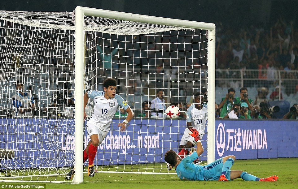 Vui dap Tay Ban Nha 5-2, tuyen Anh vo dich U17 the gioi hinh anh 7