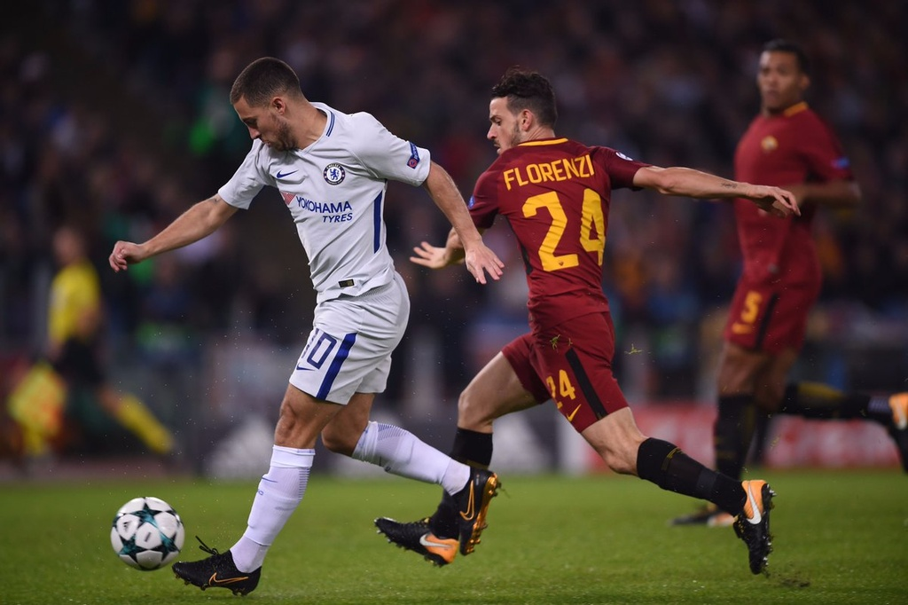 tran AS Roma 3-0 Chelsea anh 5