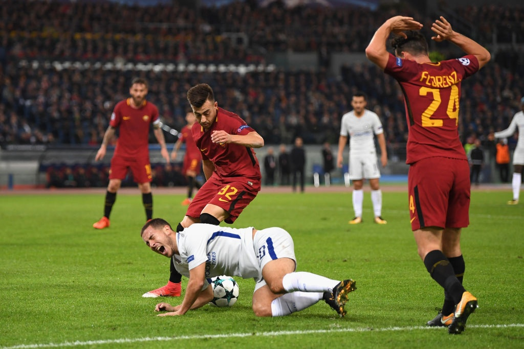tran AS Roma 3-0 Chelsea anh 10
