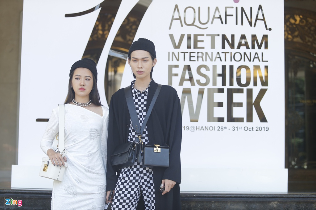 Aquafina Vietnam Internationl Fashion Week 2019 anh 8