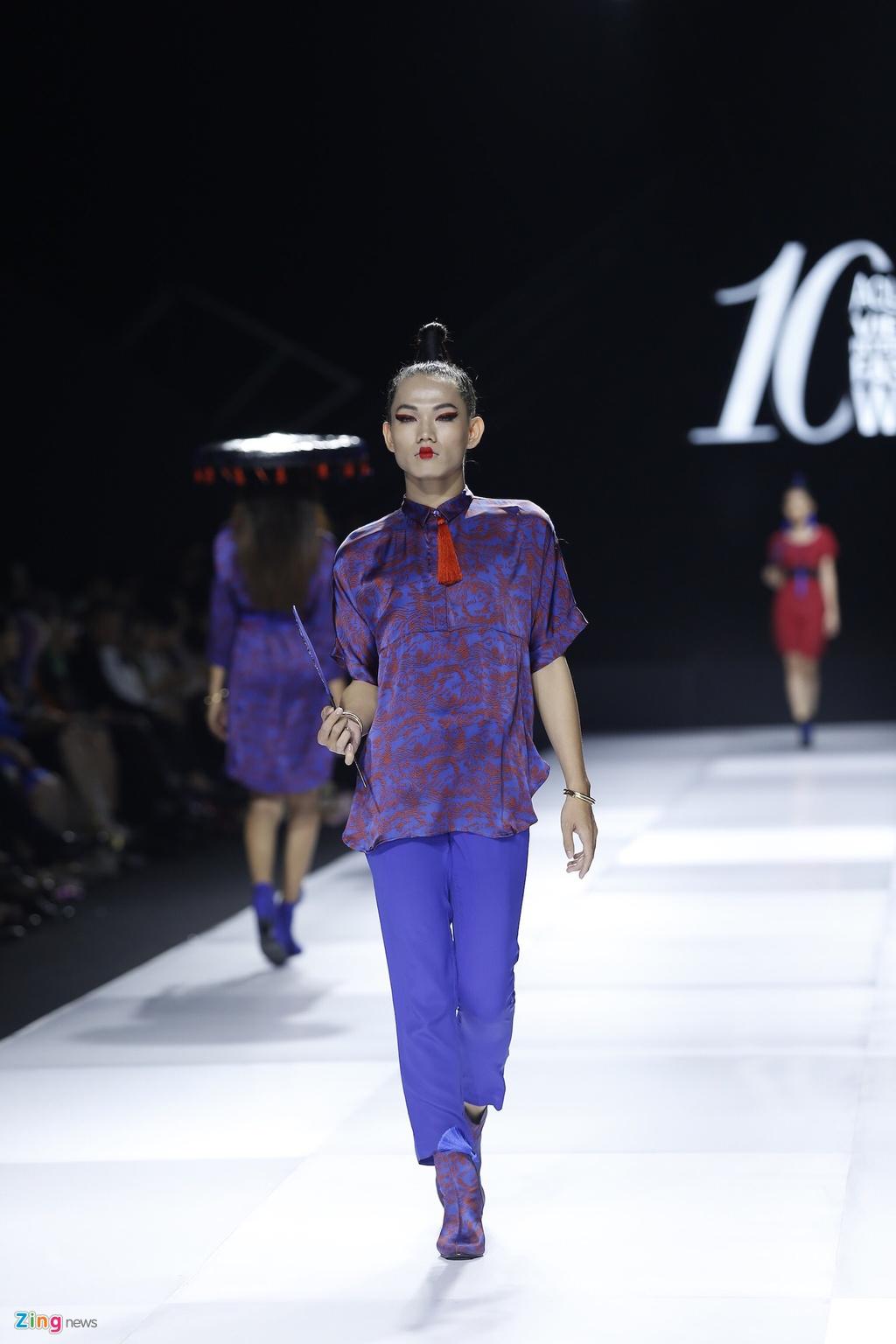 Aquafina Vietnam International Fashion Week 2019 anh 7