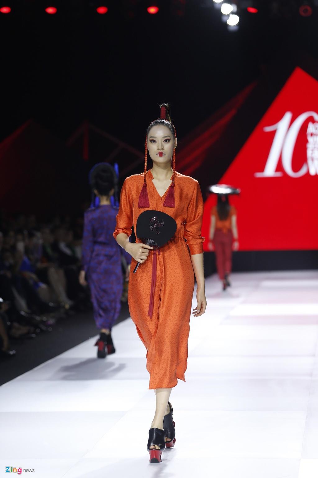Aquafina Vietnam International Fashion Week 2019 anh 8