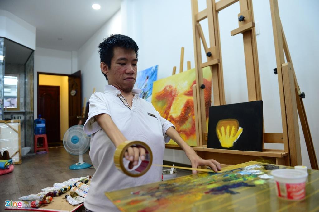 Hoa si Le Minh Chau anh 4