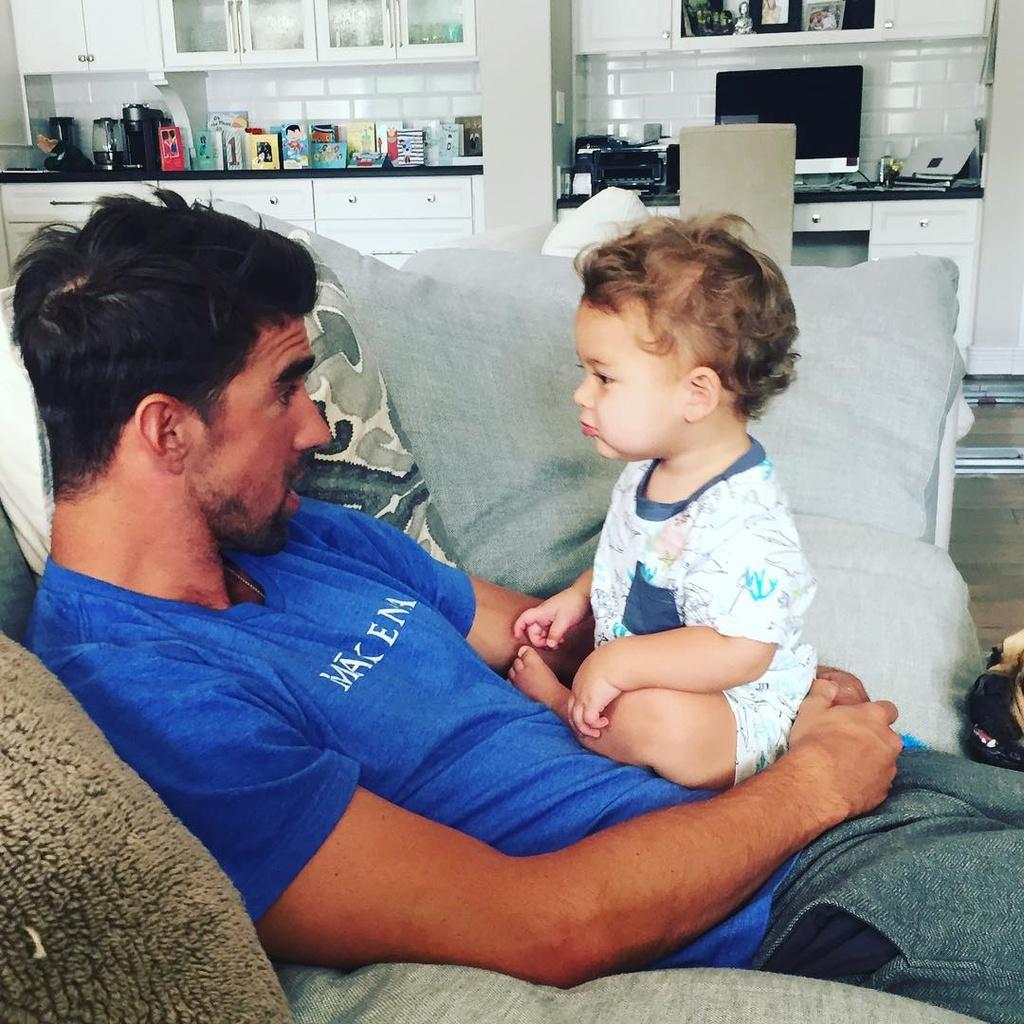 6 ly do con trai Michael Phelps la nhoc ty hot nhat tren mang hinh anh 7