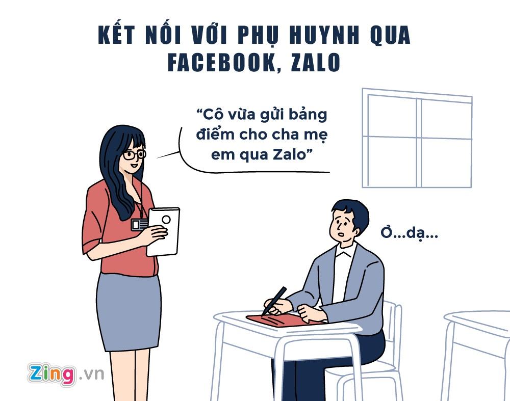 10 dac diem thu vi cua thay co thoi Facebook, Zalo hinh anh 5