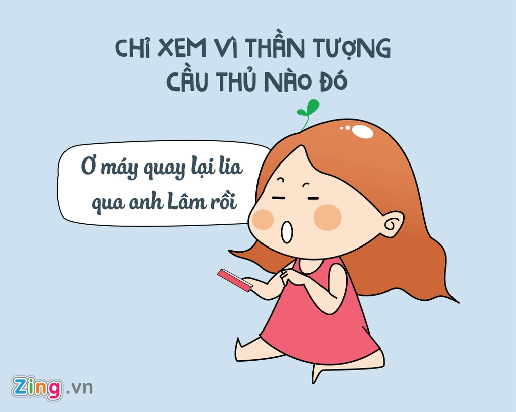 Muon kieu fan bong da: Xem vi co trai dep, thang la phai 'di bao' hinh anh 3