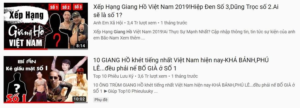 kenh YouTube giang ho anh 4