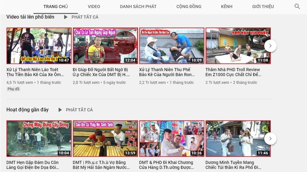 Duong Minh Tuyen mo kenh video moi anh 2