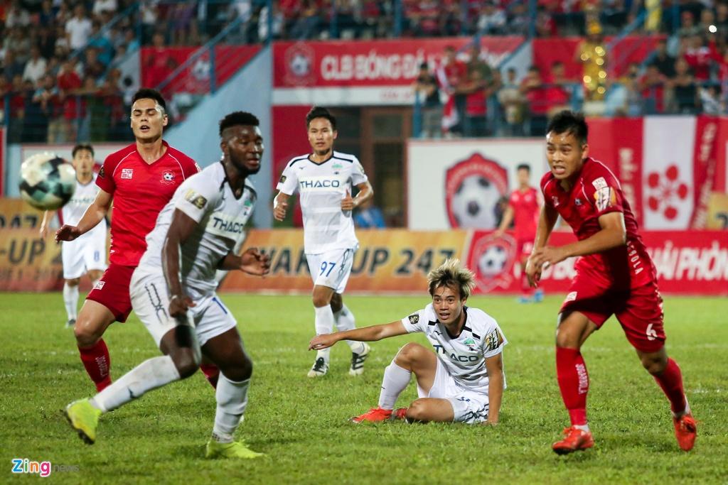 HAGL,  Van Toan,  Tuan Anh,  V.League 2019,  Hai Phong anh 11
