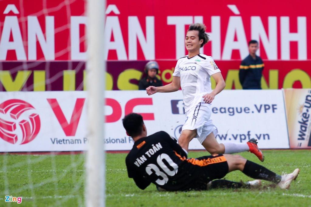 HAGL,  Van Toan,  Tuan Anh,  V.League 2019,  Hai Phong anh 3