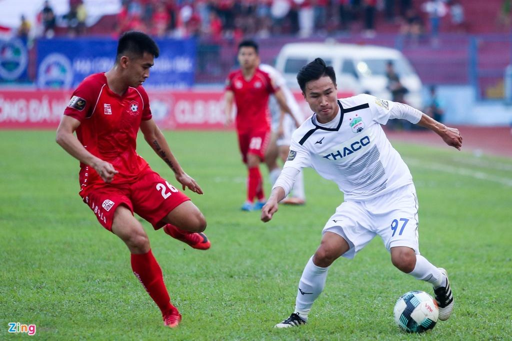 HAGL,  Van Toan,  Tuan Anh,  V.League 2019,  Hai Phong anh 4