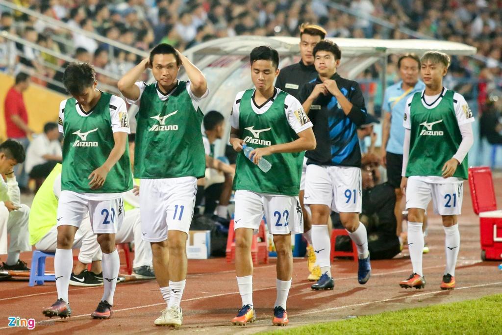 HAGL,  Van Toan,  Tuan Anh,  V.League 2019,  Hai Phong anh 8