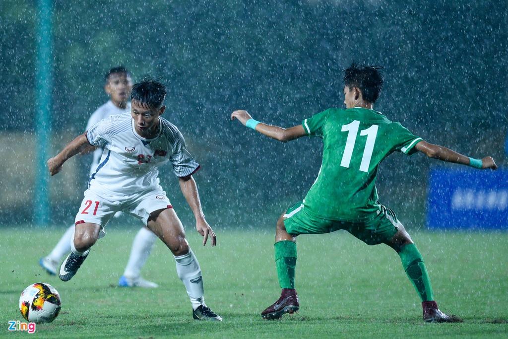 U16 Viet Nam xay chac ngoi dau sau chien thang 6-0 truoc Macao hinh anh 1
