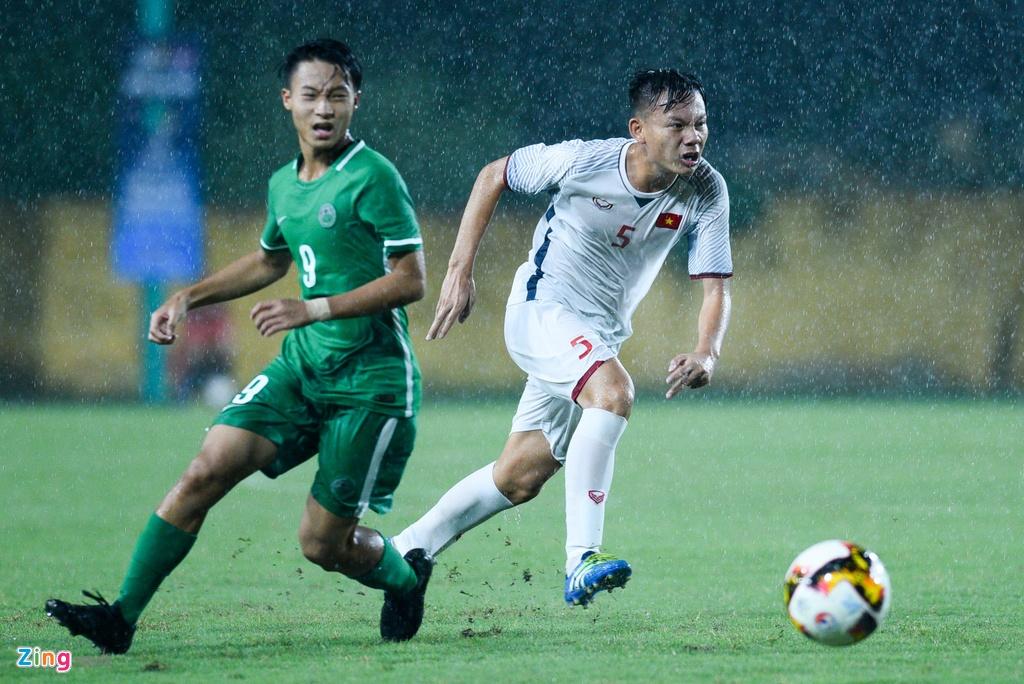 U16 Viet Nam xay chac ngoi dau sau chien thang 6-0 truoc Macao hinh anh 2