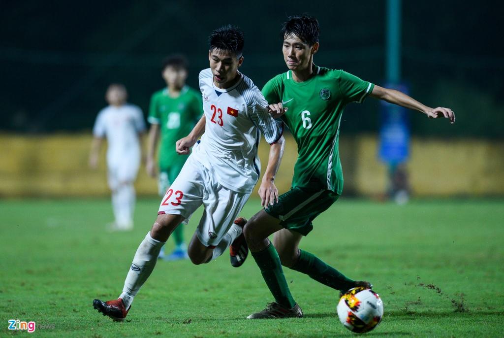 U16 Viet Nam xay chac ngoi dau sau chien thang 6-0 truoc Macao hinh anh 5